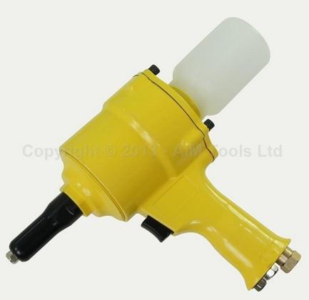 Aluminum Steel Sheet Air Riveter Pistol Type Pneumatic Tool Rivet Gun ootdty electric rivet gun tool nut