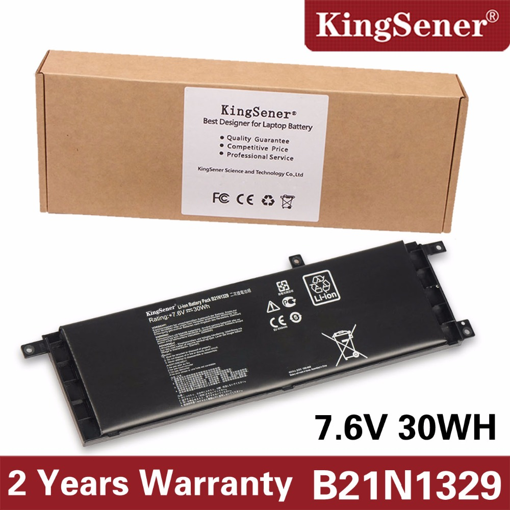 KingSener B21N1329 Laptop Battery for ASUS D553M F453 F453MA F553M P553 P553MA X453 X453MA X553 X553M X553B X553MA X403M X503M new laptop dc power jack socket for asus d553m f553ma x453ma x553 x553m x553ma series charging port connector