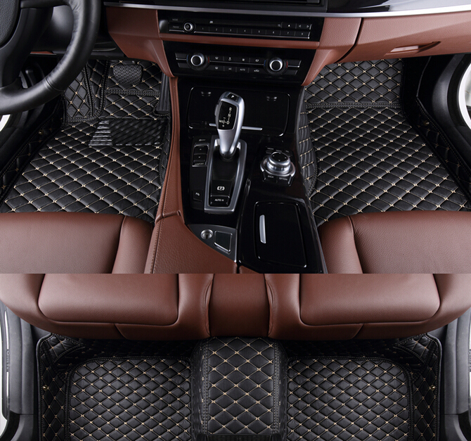 no odor full covered special car floor mats for BMWX3 wear-resisting durable waterproof Easy to clean non-slip carpets
