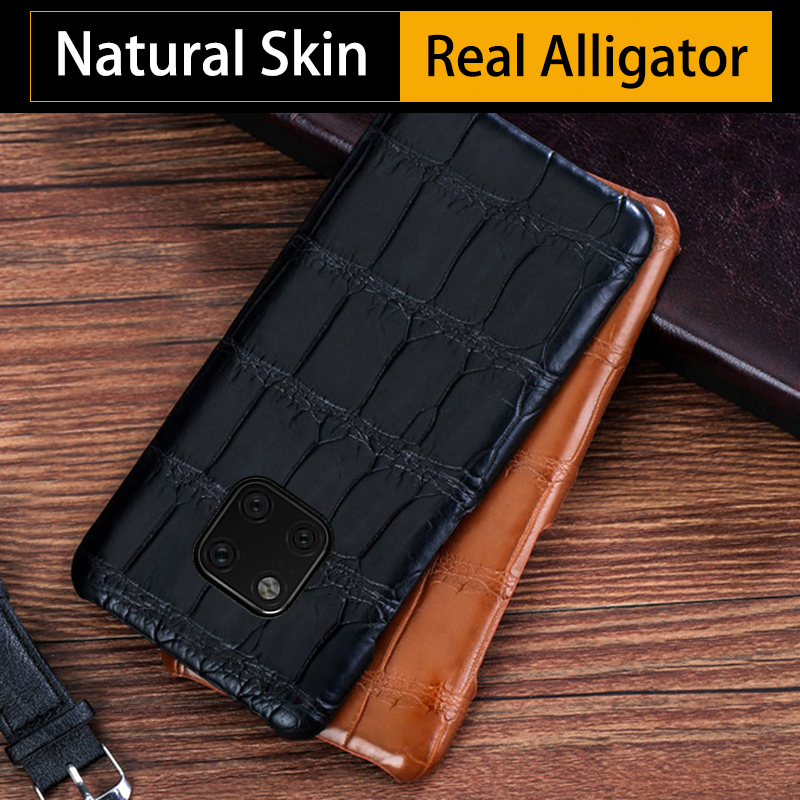 Crocodile Phone Case For Huawei P10 P20 P30 Lite Mate 9 10 20 lite Pro Real Alligator Cover For Honor 8X 9 10 V20 P Smart caseCrocodile Phone Case For Huawei P10 P20 P30 Lite Mate 9 10 20 lite Pro Real Alligator Cover For Honor 8X 9 10 V20 P Smart case