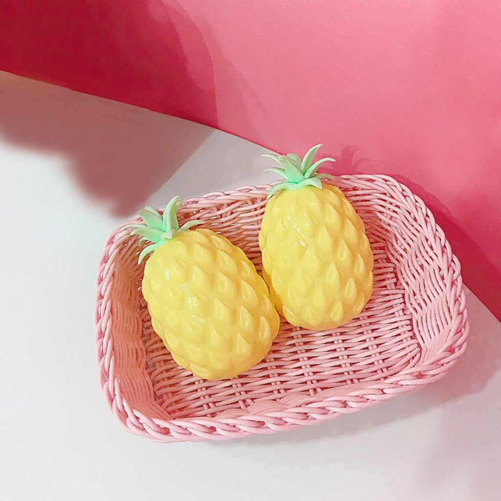 2019 Cute Pineapple Squishy Super Jumbo Squeeze Toys Slow Rising Rare Fun Toy New Funny Antistress gadgets for Kids Children