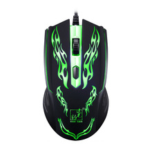 LED Optical USB Wired Mouse 2.4Ghz Computer Gaming Mouse Cable and cord Mice For PC Desktops Laptop and cool Dota Gamer Office