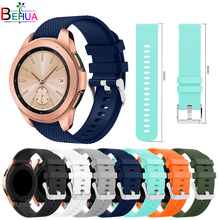 Smart Accessories 20mm Wrist Band For Samsung Gear sport S2 Soft Silicone Replacement Strap For Samsung Galaxy Watch 42mm Band цены онлайн