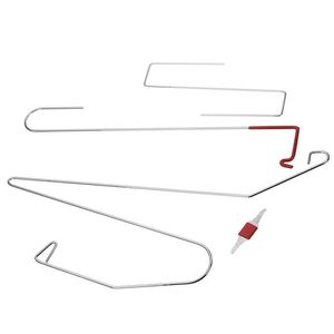 Image 4 - 車のドアロックアウト緊急解除のキーツールキット + 黒空気ポンプユニバーサル
