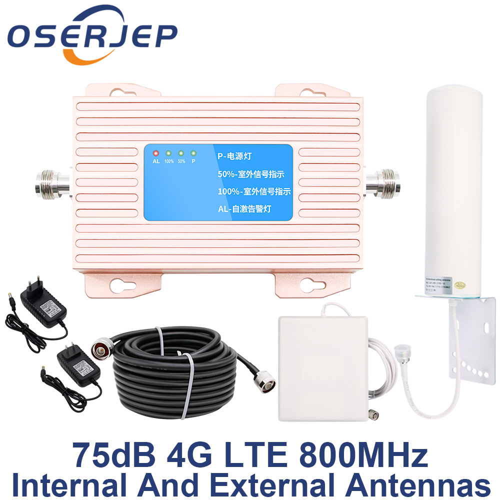 Band 20 4G Amplifier 800 DD Europe Mobile Phone Signal 70dB Cell Phone Amplifier 4g lte