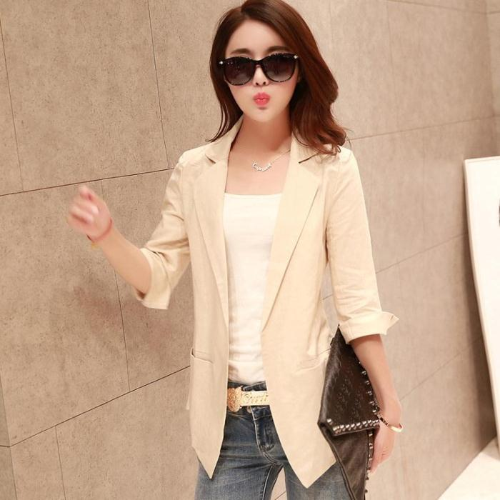 Women's summer linen jackets – Jackets photo blog