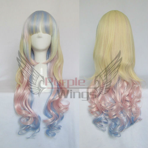 Aliexpress Com Buy Anime Cosplay Party Wigs Fashion Long