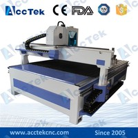 Jinan AccTek stainless steel milling machine Mach3 USB interface 2030 cnc router for car seat cover/furniture