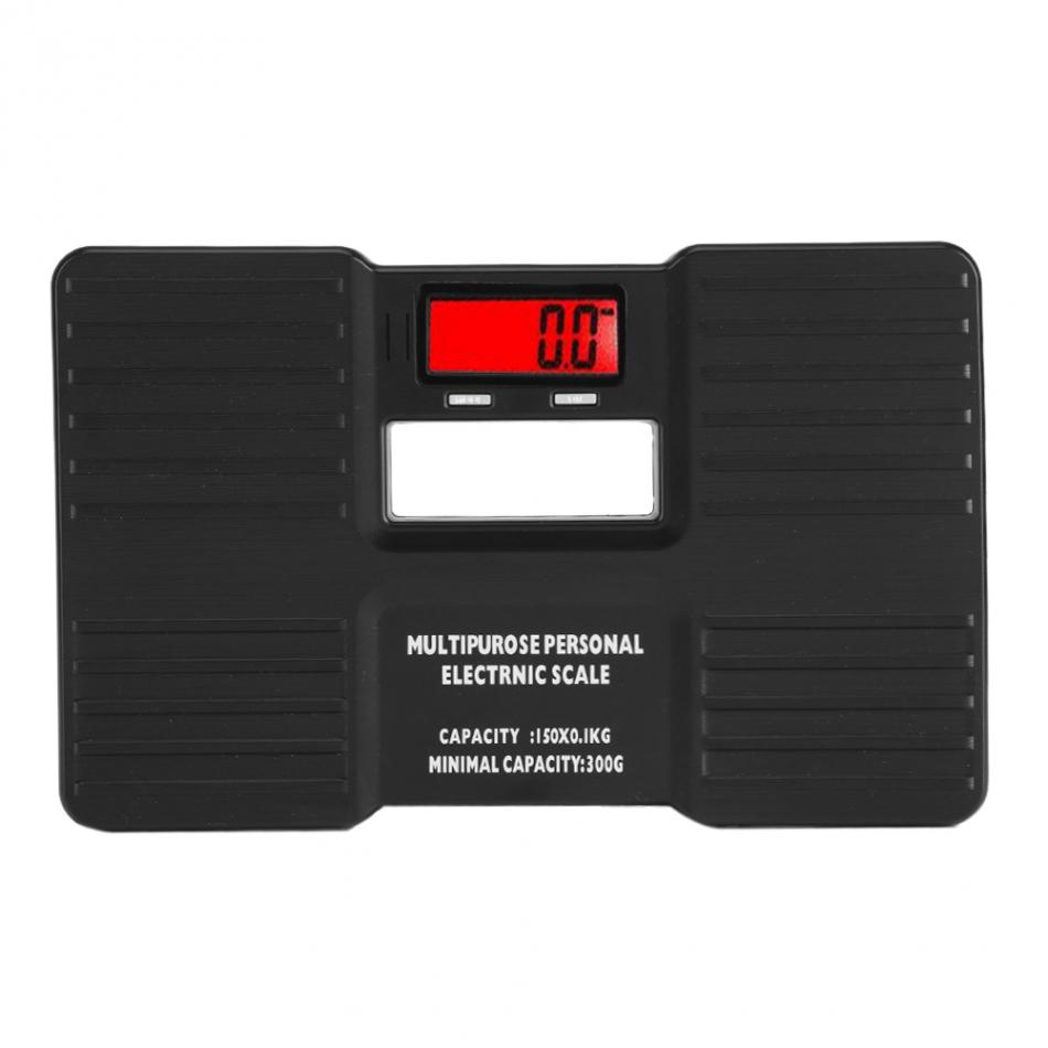150kgLCD Digital Electronic Personal Scale On Tare Function Low Battery Alarm Body Weight Electronic Scales bascula