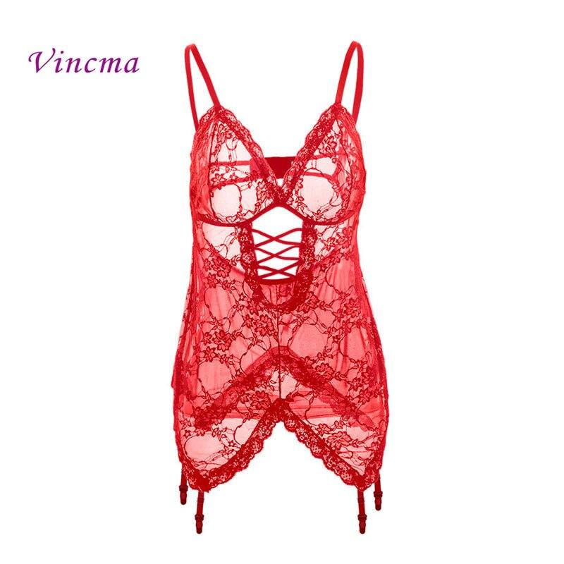 S M L XL XXL 3XL 4XL 5XL 6XL Biancheria Intima Erotica donne Plus Size Lingerie Sexy Hot Bambolette Sesso Porno Costumi Con giarrettiera