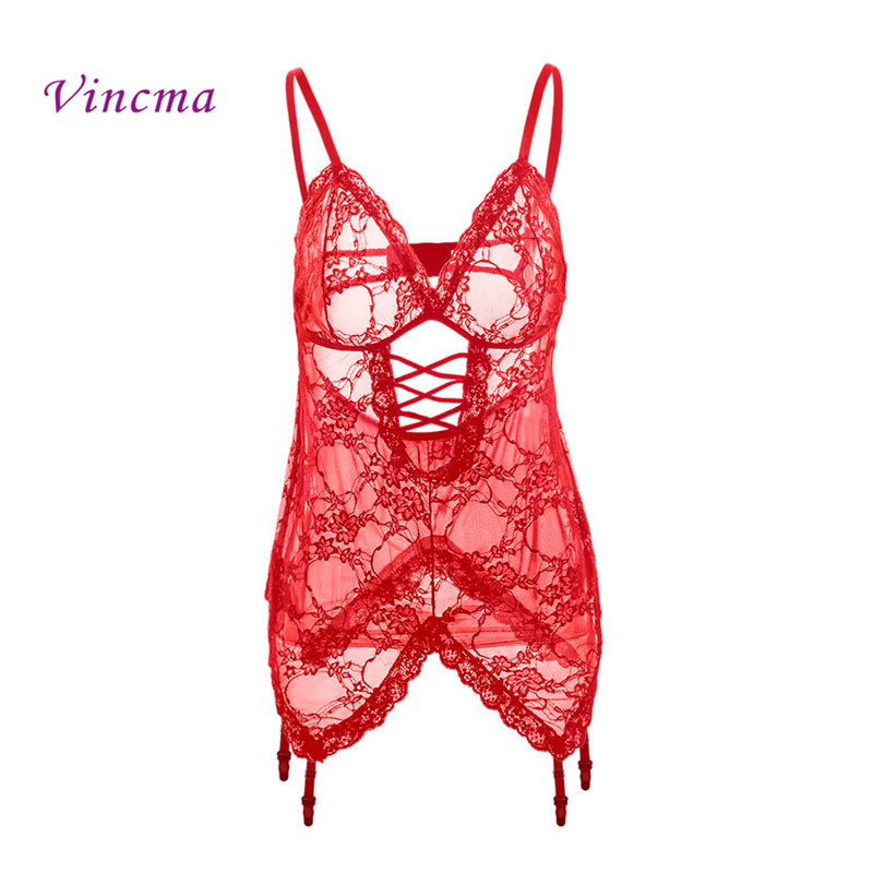 S M L XL <font><b>XXL</b></font> 3XL 4XL 5XL 6XL Erotic Underwear Women Plus Size Sexy Lingerie Hot <font><b>Sex</b></font> Babydolls Porno Costumes With Garter image