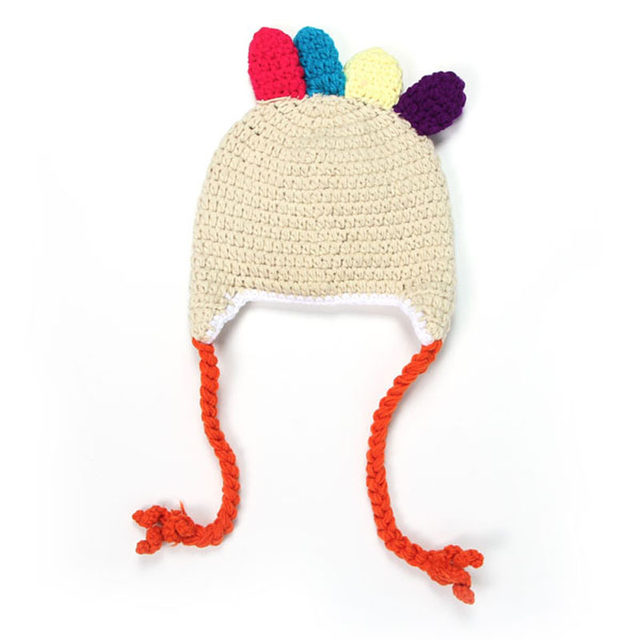 Online Shop Baby Crochet Turkey Hat Thanksgiving Hat Newborn Animal