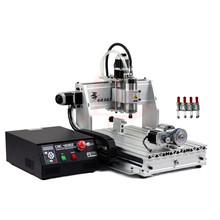 Free ship 800W CNC 3040 Z-S 4axis cnc router, CNC 3040Z+S 4th axis water cooled engraving machine for cutting stone, metal etc free shipping newest 3 axis cnc router ly 3020z vfd800w engraving machine cnc cutting machine free shipping