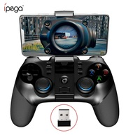 IPEGA PG-9156 9157 беспроводной Bluetooth геймпад контроллер гибкий джойстик с держателем телефона для Android iOS PC tv Box