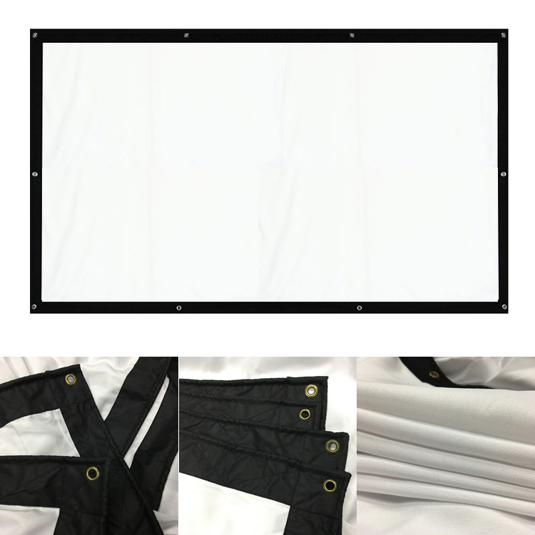 200 Inches 4 3 Portable Wall Mounted Matt White Fast