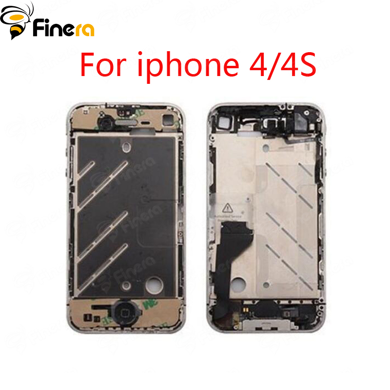 88ceb345ca5 Front Frame For iphone 4/4S New Middle Frame housing Replacement Parts  Tools As Gift