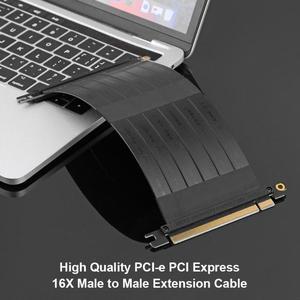 Image 3 - VODOOL высокоскоростные гибкие кабели PCI E Gen3 PCI E Express 16X кабель удлинитель для переходных карт для шасси 1U, 2U