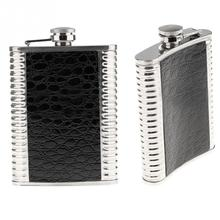 Stainless Steel 8 oz Alcohol Flask Mini Flasks Outdoor Portable Mini Hip Flask