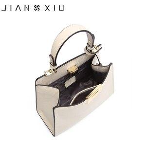 Image 4 - حقائب يد فاخرة من الجلد الأصلي للنساء حقائب بتصميم أنيق حقيبة يد نسائية Bolsa Bolsos Mujer Sac a Main 2017