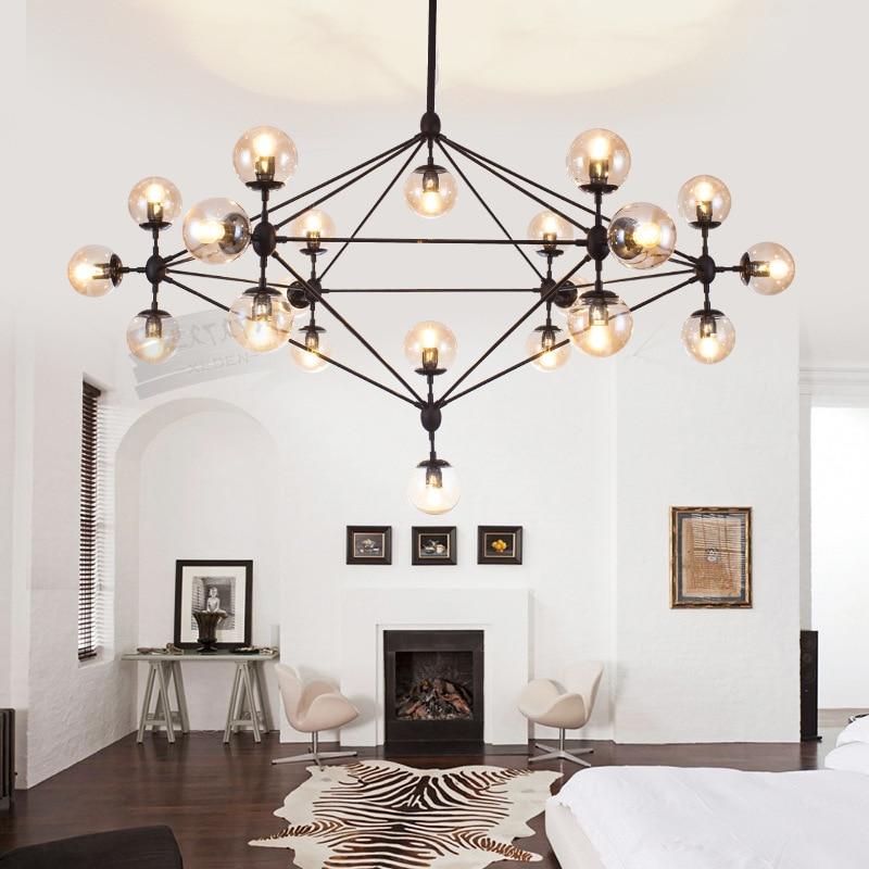 Us 141 41 5 Off New Design Jason Miller Magic 10 15 21 Heads Modo Chandelier For Restaurant Parlor Hotel Iron Gl Vintage Dna Pendent Lights In