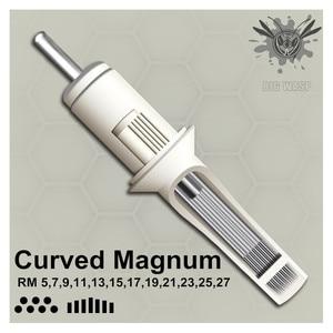 Image 1 - Originele Bigwasp Standaard Gebogen Ronde Magnum Tattoo Naald Cartridge 5/7/9/11/13/15/17/19/21/23/25/27RM