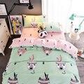 3/4 pcs Cute Cartoon Duvet Cover Kids Bedding Set Kids Bedding Set Boys girls bed sheet pillowcases ftwin/queen/king size bed
