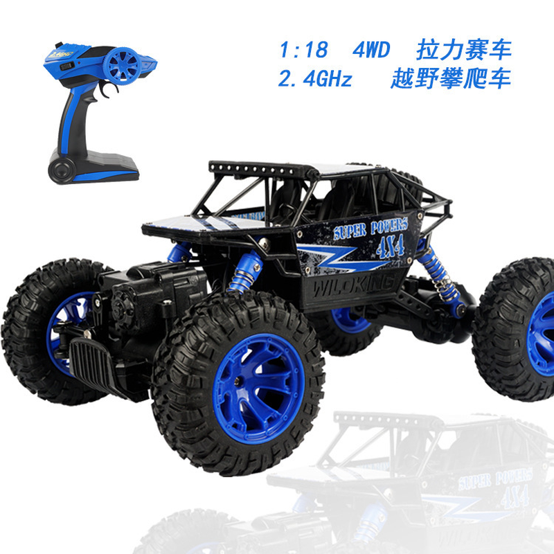 1:18RC Car 2.4G 4WD Rock Crawlers High Speed Bigfoot Car Remote Control Car Model Off-Road Vehicle Toy цена