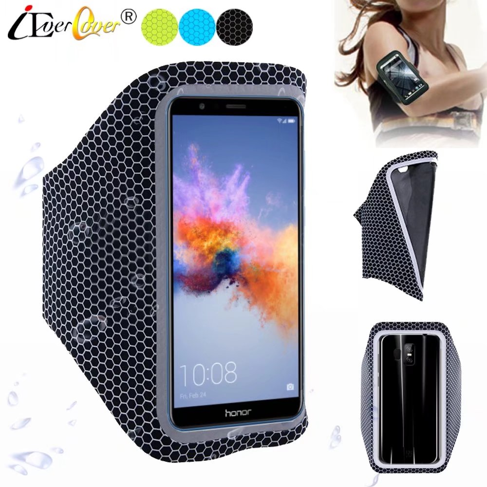 Cellphones & Telecommunications Armbands Running Bags For Huawei Honor 8 Waistpack Sport Gym Waterproof Arm Band Mobile Phone Case For Huawei Honor 9 Zip Pocket On Hand
