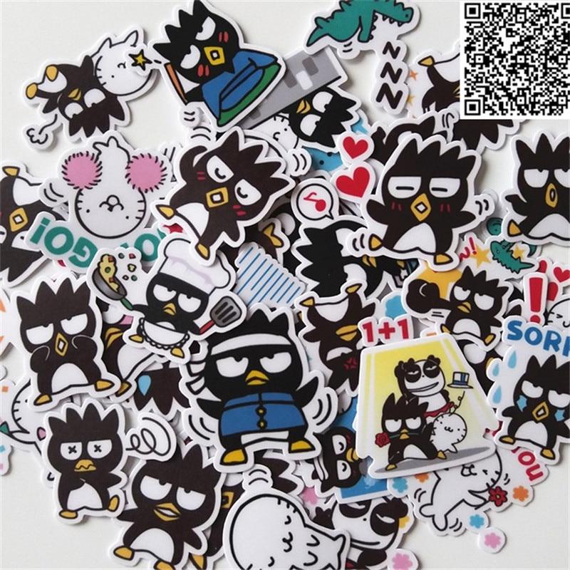 41 Pcs Cool Penguin Sticker For Luggage Skateboard Phone Laptop Moto Bicycle Wall Guitar/Eason Stickers/DIY Scrapbooking