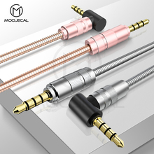 MOOJECAL Aux Cable Jack 3.5mm Audio Cable Speaker Line For iPhone 6 6s 5 Samsung S8 Honor 10 Car Headphone For Xiaomi Audio Jack