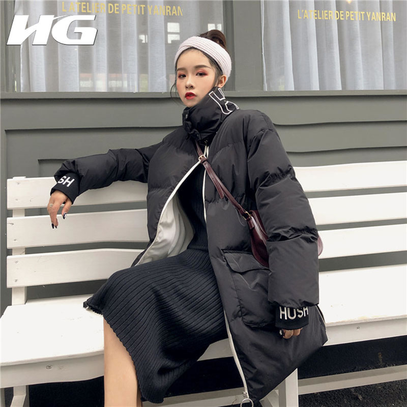 Dll1178 Dll1178 Apricot Moda Mujer Bordado Abrigo Invierno black Sólido  Mujeres Color Manga Parka Nuevas hg ... 904f5b2d83d