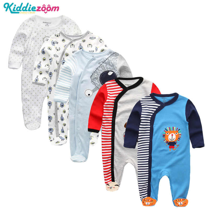 เด็กทารก Rompers ผ้าฝ้ายเด็ก Unisex Rompers Overalls เสื้อผ้าเด็กแรกเกิดแขนยาว Roupas de Bebe Infantis สาวเสื้อผ้าชุด