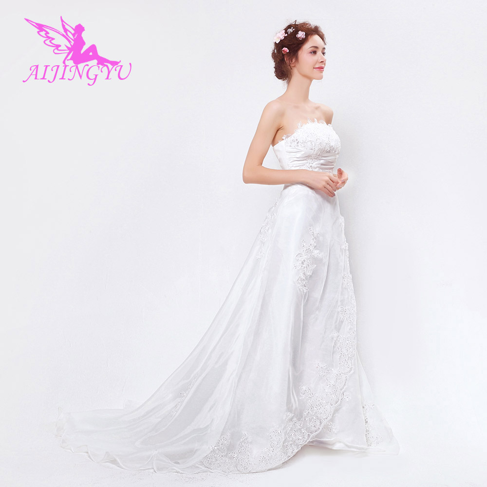 Cheap Wedding Dresses Size 6: AIJINGYU 2018 New Free Shipping China Bridal Gowns Cheap