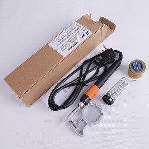 Image 5 - A BF GT90E 90W Digital LCD Elektrische Lötkolben Kit Temperatur Einstellbar 220V Löten Eisen Tipps Löten Eisen Stehen