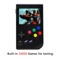 LCL Pi Handheld Game Player Raspberry Pi 3B/B+ Retro Video Game Console with 3.5 Inch IPS Screen Built in 10000 Games