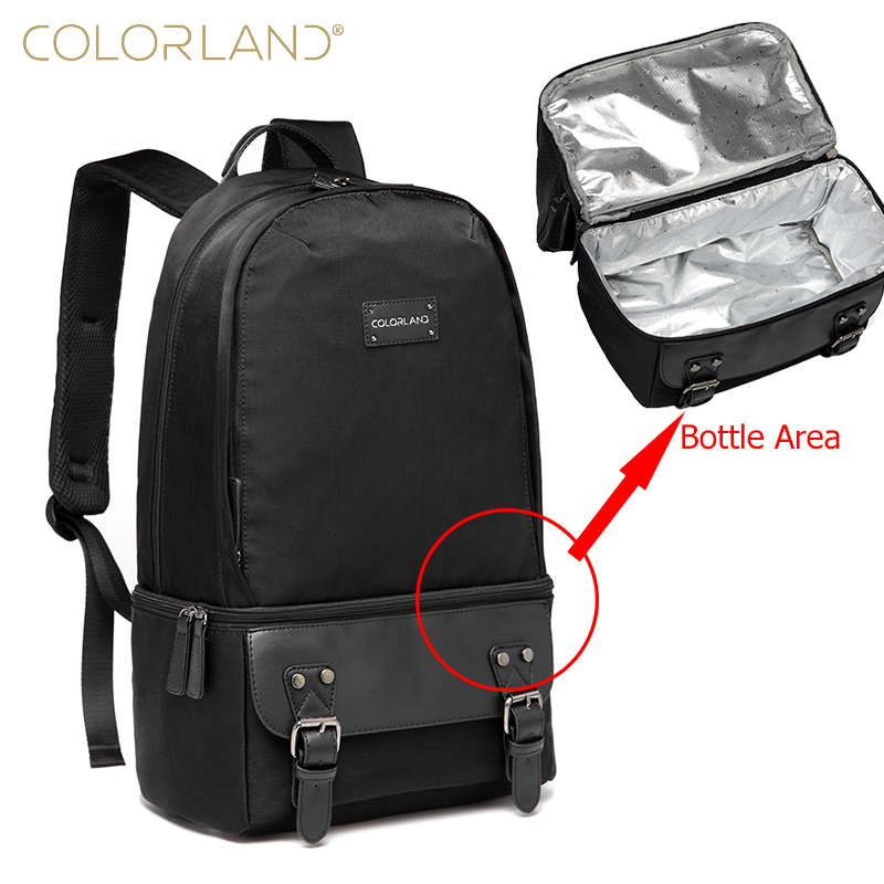 Baby Care Backpack for Mom and Dad Diaper Bag Fashion Maternity Nappy Changing Bag Insulation Thermos Lunch Bags electric lunch box double layer stainless steel liner cooking lunch boxes multifunction plug in lunch box steamed rice steamer
