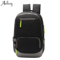 Aelicy Portable Fashion Casual Travel Backpacks Soild Nylon Back Pack Daily Traveling Mens Backpack Bag Waterproof