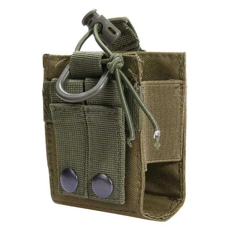 CQC Airsoft militar táctica Molle Radio bolsa Walkie Talkie titular bolsa ejército disparo Caza Revista Mag bolsa