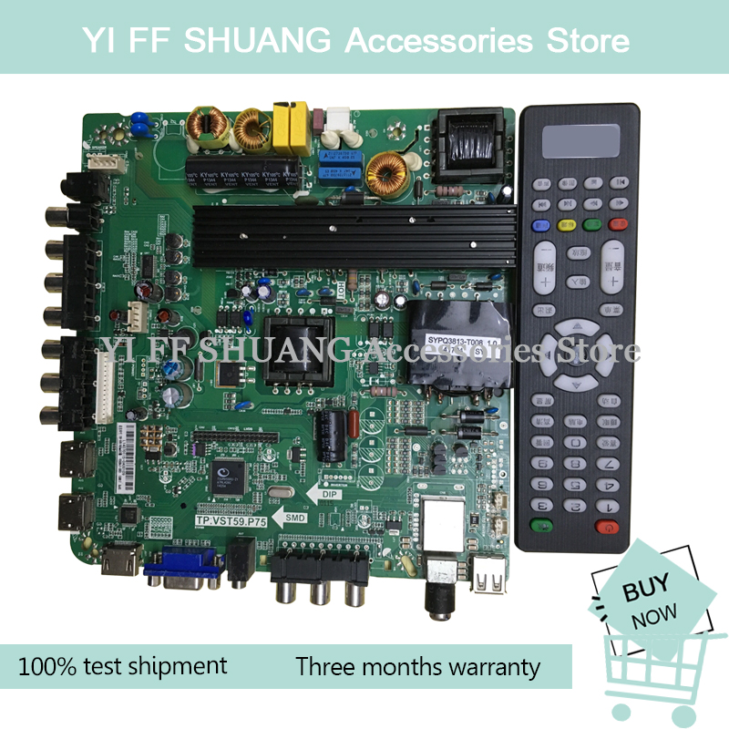 100% Test For TP.VST59.P75 46-60 Inch LED LCD Motherboard Send Remote Control