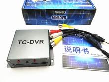 2 CH Channel Mini DVR TC-DVR CCTV Security DVR Recorder Card For CCTV Camera/Car