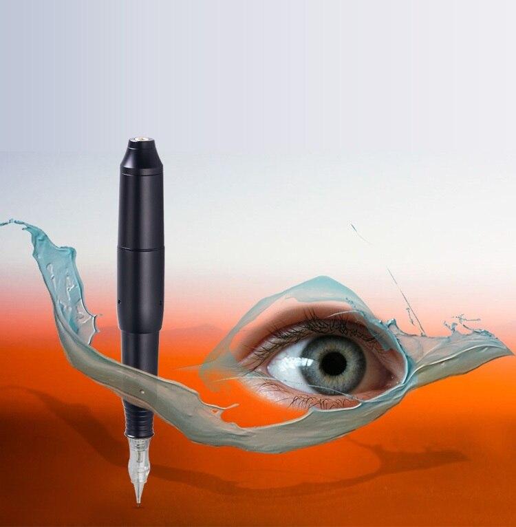 Stylo de tatouage professionnel noir de Machine de maquillage pour le stylo de lèvre de sourcil 3D ensemble de pistolet de tatouage de Microblade CQ003