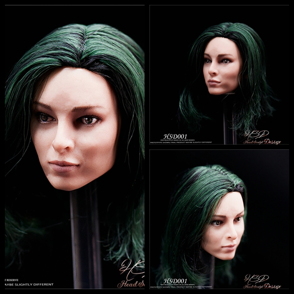 Custom 1 6 HSD001 Polaris Emma Dumont Head Sculpt for 12inch Phicen TBleague Jiaoudoll Action Figure