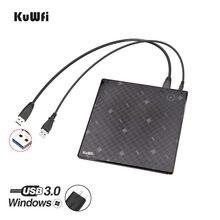 USB 3,0 Externe DVD Brenner Schriftsteller Recorder DVD RW Optisches Laufwerk CD/DVD ROM Player Für Apple Pro Air MAC OS Windows XP/7/8/10