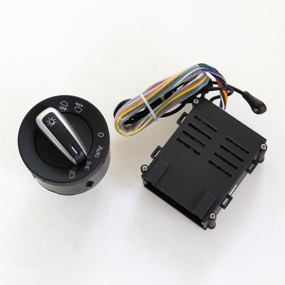 READXT Car Light Switch Chrome Auto Headlight HeadLamp