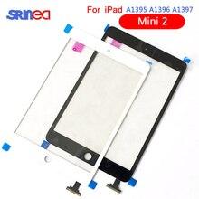 "Digitalizador de 9,7 ""para iPad 2 Touch iPad2 A1395 A1396 A1397 Sensor de digitalizador de pantalla táctil Panel de vidrio marco libre bisel + botón de inicio"