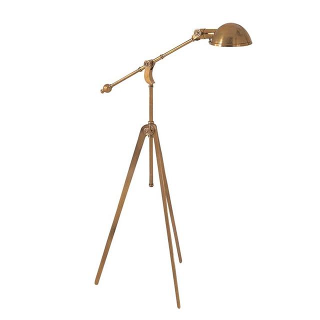 Leselampe Wohnzimmer   Vintage Kunst Stil Minimalistische Stehlampe Gold Tischleuchte