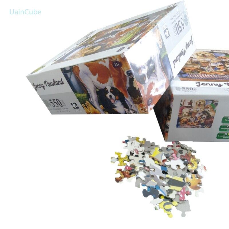 UainCube 550 шт. специальные формы головоломки игрушки для детей развитие интеллекта руки на глаза и способность мозга