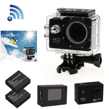 Bike Bicycle Computer Camera WIFI Wireless SJ4000 Waterproof Sports DV 12MP 1080P HD Video Action Camera Camcorder A2