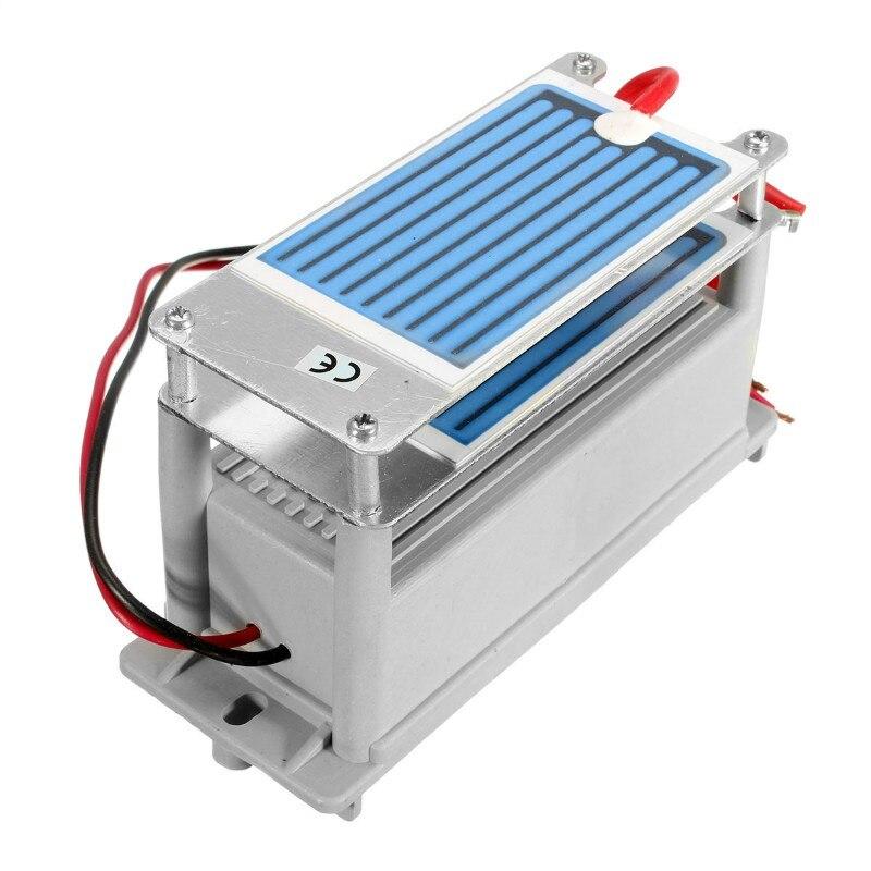 Portable Générateur D'ozone 220 v 7 g/h avec Plaque De Céramique Longue Vie Style Longévité Double Feuille Pour L'usine Chimique