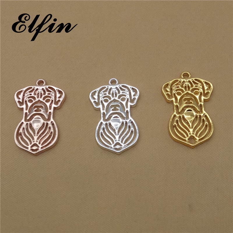 Elfin Trendy Boxer Pendants Fashion Boxer Dog Jewelry Pendant Female and Male Gift Jewellery